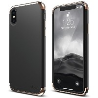 elago Empire Series iPhone X Case - Scratch Resistant Grip Coated Slim Fit Dual Toned Protective...
