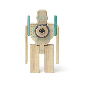 Tegu Magbot磁気木製ブロックセット