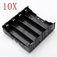 ILS - 10 pieces E1A1 ABS Battery Box Holder For 4 x 18650