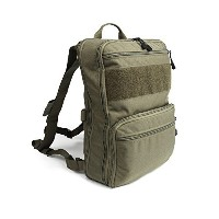 Haley Strategicパートナーd3 Flatpack Plus with Chest StrapバックパックAssault Pack Made IN the USA グリーン