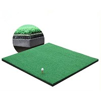 greatgymats Golf Hitting Mat 5' x5' with 3d Interlayer、Golf Chipping and Drivingスイング練習マット