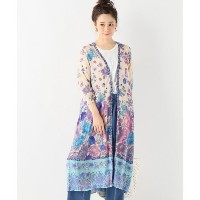 【Spell & the gypsy collective 】Siren Song Duster【ジャーナルスタンダード/JOURNAL STANDARD レディス その他(アウター) ブルー A...