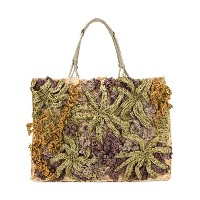 Jamin Puech knitted shopper tote - ヌード&ナチュラル