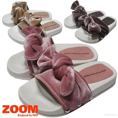 ZOOM ズーム 1748 Ribbon Sandal 17-24cm キッズ・ジュニア 靴【コンビニ受取対応商品】