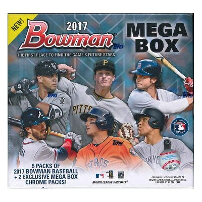 MLB 2017 BOWMAN MEGA BOX CHROME BASEBALL BOX