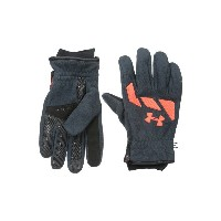 アンダーアーマー メンズ スキー・スノーボード グローブ【UA Coldgear Infrared Convex Glove】Stealth Gray/Bolt Orange/Bon