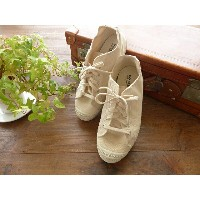 prit(プリット) INN-STANT(インスタント) キャンバススニーカー natural sole(737554-75)