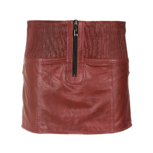 Andrea Bogosian leather skorts - レッド