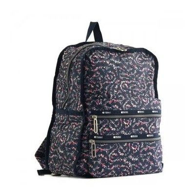 LeSportsac レスポートサック 2296 G015 FAIRY FLORAL BLUE C バックパックリュックバッグ【】【新品/未使用/正規品】
