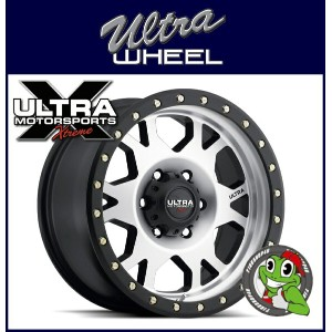 新品アルミホイール単品1本価格 18インチULTRA WHEEL X102 Xtreme X-Lok 18×9.0J 5/127+1DiamondCut/SatinBlack X-Lok Lip...
