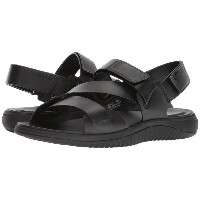 コールハーン メンズ サンダル シューズ 2.Zerogrand Multi Strap Sandal Black Leather/Black