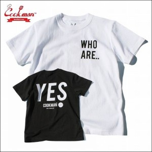 COOKMAN/クックマン T-shirts/Tシャツ「YES」・2color