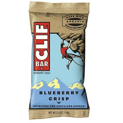 Clif Energy Bar, Blueberry Crisp クリフバー エナジー ブルーベリー 12 Bars