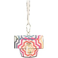 Zac Zac Posen Belay print mini clutch bag - ホワイト