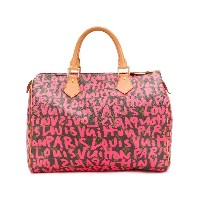 Louis Vuitton Vintage Graffiti Speedy 30 bag - ブラウン
