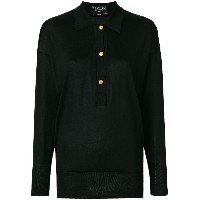 Chanel Vintage long sleeved knitted blouse - ブラック