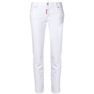 Dsquared2 Jennifer cropped jeans - ホワイト