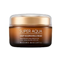 [MISSHA] Super Aqua Ultra Waterful Deep Nourishing Cream - 80ml