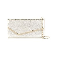 Jimmy Choo Emmie クラッチバッグ - メタリック