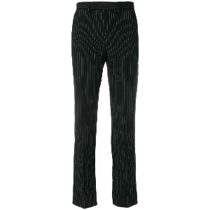 Yang Li tailored fitted trousers - ブラック