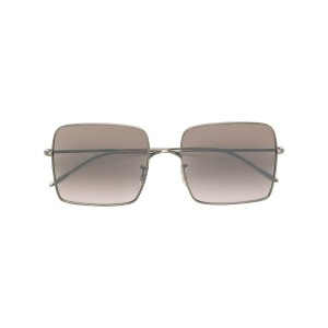 Oliver Peoples スクエア サングラス - メタリック