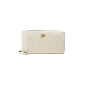 Gucci Leather zip around wallet - ホワイト
