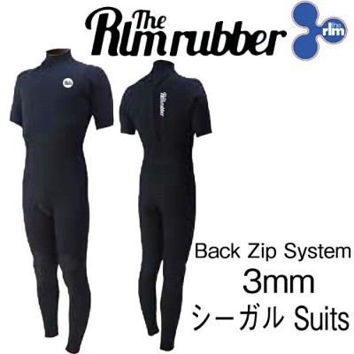 最新2018モデル THE RLM RUBBER LIMITED PC SG Back Zip 3mm WET SUITS