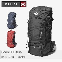 MILLET ミレー バックパック サースフェー 40+5 SAAS FEE 40+5 MIS0593 通学 高校生 大容量 ユニセックス 内祝い 誕生日プレゼント 結婚祝い ギフト おしゃれ...