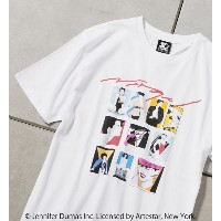 【NAGEL×STARTER BLACK LABEL】別注TEE MANY【フーズフーギャラリー/WHO'S WHO gallery レディス, メンズ Tシャツ・カットソー ホワイト ルミネ...