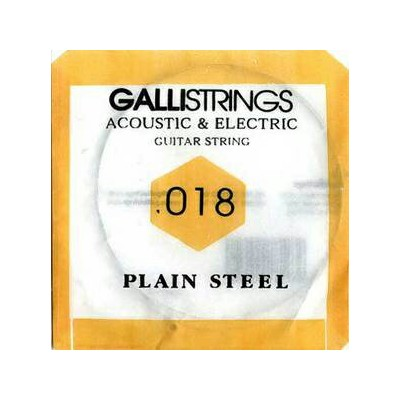 gallistrings / Acoustic & Electric Plain Steel PS018 .018 バラ弦 【エレキギター弦】【アコースティックギター弦(アコギ弦)】...