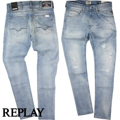 REPLAY リプレイ メンズ デニム SUPER STRETCH DENIM M913J 573 276 011 DARK INDIGO