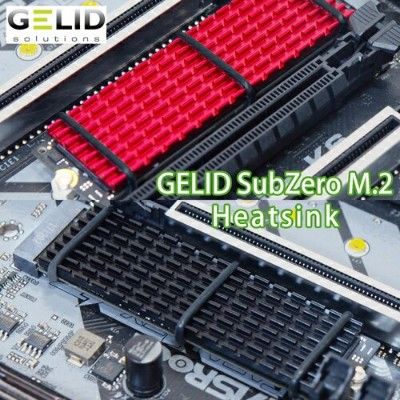 GELIDブランド SUBZERO M.2 SSD COOLING KIT(黒)
