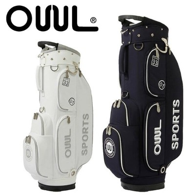 オウル カートバッグ 8.5型OUUL 5WAY CART BAG COLLEGIAL COLLECTIONC3301CT8 あす楽