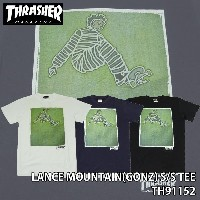 スラッシャー THRASHER LANCE MOUNTAIN(GONZ) S/S TEE TH91152 thrasher73