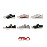 【SPAO】Lキャンバススニーカー37(アドベンチャータイム)/L canvas sneakers 37 (Adventure time)/6種・230~270㎜