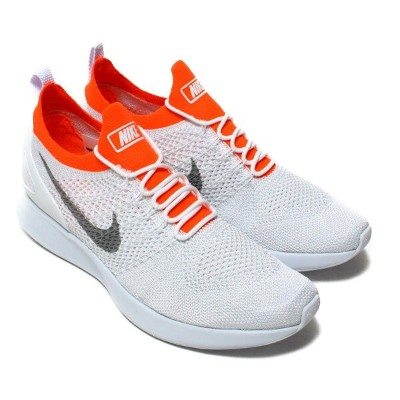 NIKE AIR ZOOM MARIAH FLYKNIT RACER(ナイキ エア ズーム マライア フライニット レーサー)PURE PLATINUM/WOLF GREY-TOTAL...