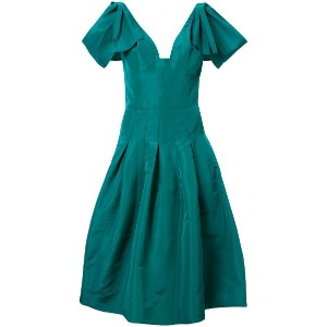 Oscar de la Renta flared midi dress - グリーン