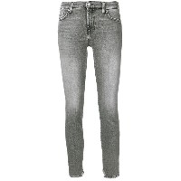 7 For All Mankind クロップドジーンズ - グレー