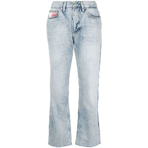 Tommy Jeans cropped denim jeans - ブルー