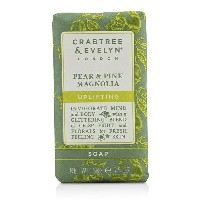 Crabtree & EvelynPear & Pink Magnolia Uplifting Soapクラブツリー&イヴリンPear & Pink Magnolia Uplifting Soap...