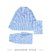 MARGHERITA EXCLUSIVELY for YOOX パジャマ スカイブルー