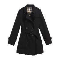 Burberry Kids The Sandringham Trench Coat - ブラック