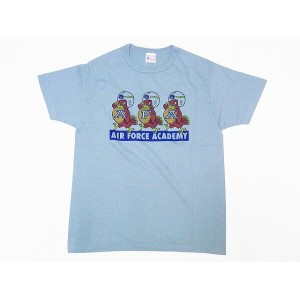 Buzz Rickson's[バズリクソンズ] Tシャツ BR78018 AIR FORCE ACADEMY (セージグリーン)