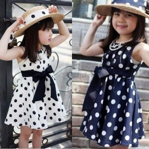Summer Girls Princess Girls Party Dress Costume Outfit Clothes