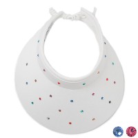 High Spirits Ladies Swarovski White Light Visor【ゴルフ レディース>サンバイザー】