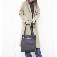 Layer Tote Bag(Cotton)【WEB LIMITED】【ラシット/russet レディス トートバッグ ブラック ルミネ LUMINE】