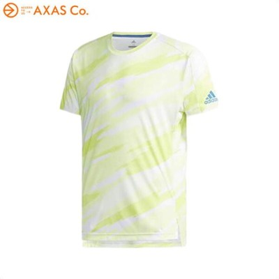 adidas (アディダス) 81 MEN ML AOP T-SHIRTS (DRS20) Col.CG2524 [セミフローズンYEL]