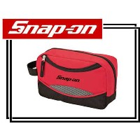 Snap-on(スナップオン)ポーチ「RED TRAVEL TOILETRY BAG」