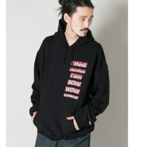 UR BOWWOW×URBAN RESEARCH 別注 OLD PRINTED PARKA【アーバンリサーチ/URBAN RESEARCH メンズ パーカー BLACK ルミネ LUMINE】