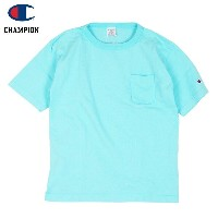 Champion チャンピオン T1011 POCKET-Tee MADE IN USA (OCEAN)